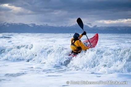 Alaska Surf Kayaker Randy Kellar
