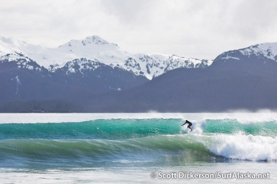 fly-out surfing remote Alaska surf breaks