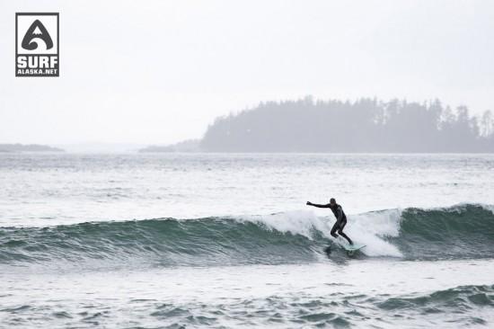 Surfing Sitka Alaska