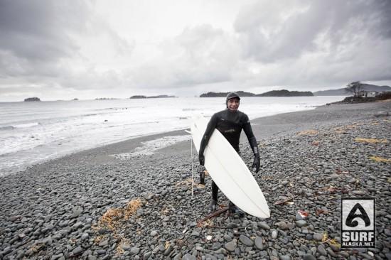 Surfing Sitka, Alaska