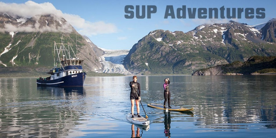 Stand up Paddling adventures in Alaska