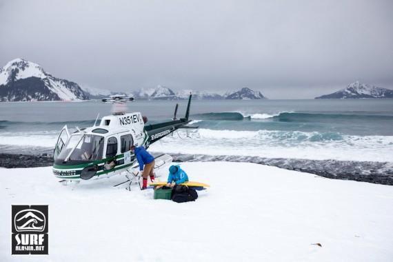 Helisurfing Alaska