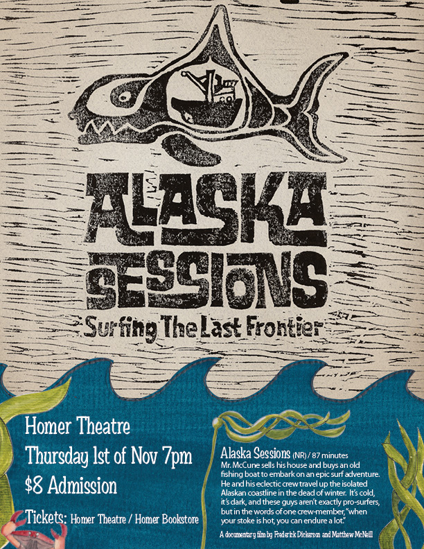 Alaska Sessions film premiere poster