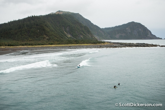 heli-surfing adventure in Alaska